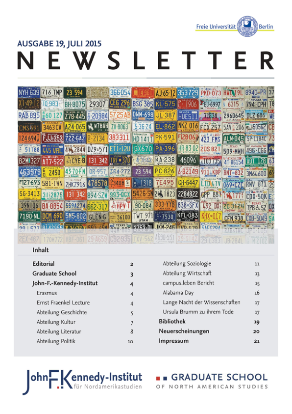 Cover Newsletter 19