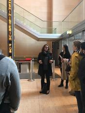 Excursion to Bundestag Art Collection with MA Students