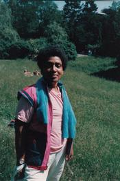 In the Park, 1984 (Color) / Freie Universität Berlin, University Archive, NL Lorde, Sig. 227