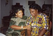 With Gloria Joseph, 1989 / Freie Universität Berlin, University Archive, NL Lorde, Sig. 120