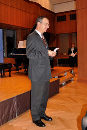 Lecture and Concert in the German Consulate of New York City