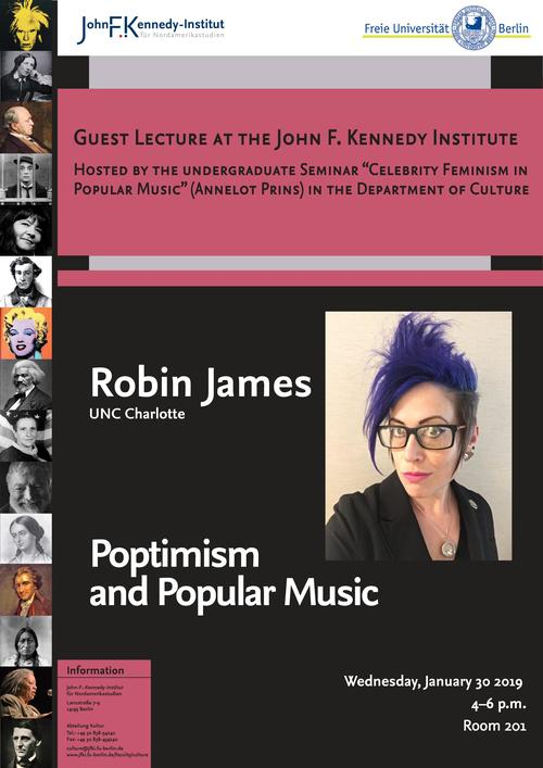 Robin James: Poptimism and Popular Music