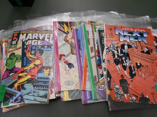 Comic books, given to the library by the Comic Art Collection at  Michigan State University