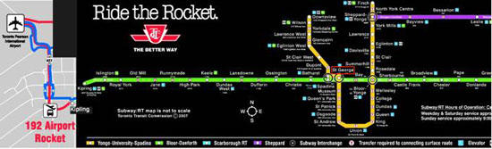 Ride the Rocket in Toronto